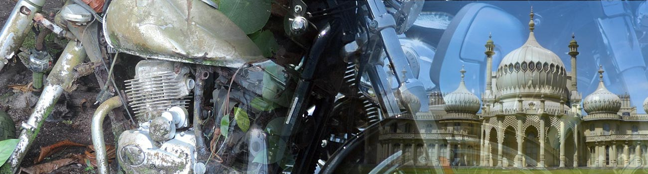 scrap motorbikes service in brighton advertised on this page - this is an illustrative photo